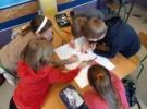 Uczniowie z kl. 4b krainie pełnej barw, czyli w Ćwierćlandzie