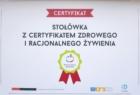 certyfikad stolowki