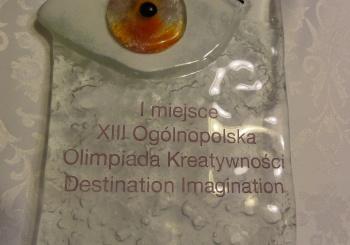 Doskonały wynik w Ogólnopolskiej Olimpiadzie Kreatywności DI
