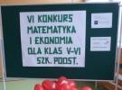II miejsce w konkursie Matematyka i Ekonomia