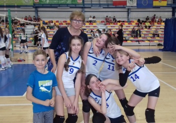 Szkolny turniej Volleymanii